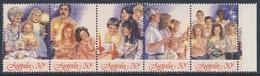 Australia 1987 Mi 1067 /1 SG 1098 /02 ** Carol Singing By Candlelight - Christmas - Weihnachtssingen / Weihnachten/ Noèl - Musique