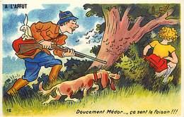 Themes Div-ref Z154- Illustrateurs - Illustrateur - Humour -humoristique - La Chasse - Chasseur - - Humour
