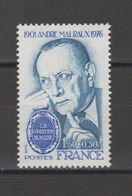 FRANCE / 1979 / Y&T N° 2032B ** : André Malraux - Gomme D'origine Intacte - France
