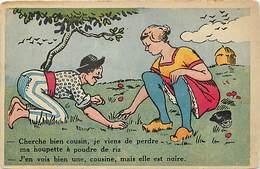 Themes Div-ref Z153- Illustrateurs - Illustrateur - Humour -humoristique - La Houpette A Poudre De Riz - - Humour