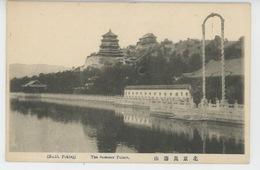 ASIE - CHINE - CHINA - PEKIN - PEKING - TIEN TSIN - The Summer Palace - Chine