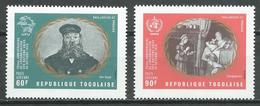 Togo Poste Aérienne YT N°141/142 Organisation Des Nations Unies Neuf ** - Togo (1960-...)