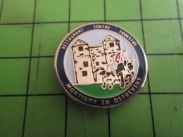 818A Pins Pin's / Rare & De Belle Qualité  THEME : ALIMENTATION / RESTAURANT CENTRE EQUESTRE MONTIGNY EN OSTREVENT - Food
