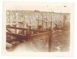 Photo Guerre 1914/1915 - Cimetière , Ambulance 7 - XV - Guerre, Militaire