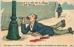 Themes Div-ref Z150- Illustrateurs - Illustrateur - Humour -humoristique -poivrots -alcool -alcoolisme -poivrot -ivrogne - Humour
