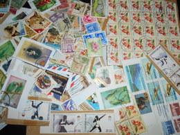 Collection , 80 Grammes De Timbres Oblitere Tout Pays - Timbres