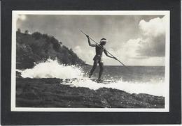 CPA Tahiti Océanie Océania Polynésie Carte Photo René Moreau RPPC Non Circulé Voir Scan Du Dos - Tahiti