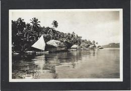 CPA Tahiti Océanie Océania Polynésie Carte Photo René Moreau RPPC Non Circulé Voir Scan Du Dos TIVA - Tahiti