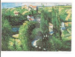 PAUL CEZANNE - LA COTE DU GALET - Peintures & Tableaux