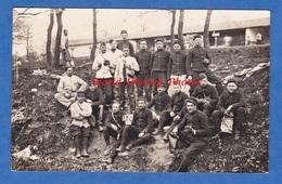 CPA Photo - Camp De CHAMBARAN - Beau Portrait De Soldat , Régiment à Identifir - Avril 1914 - Soldat Poilu Quart - Weltkrieg 1914-18