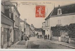 CPA 37 (Indre Et Loire) CORMERY / LA ROUTE NATIONALE (Sud-Ouest) / ANIMEE - Autres Communes