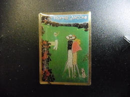 PIN'S GOLF 21° Trophée LANCOME (1990) - Golf De Saint-Nom-la-Bretèche (Yvelines) Vainqueur José Maria OLAZABAL (Espagne) - Golf