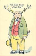Themes Div-ref Z143- Illustrateurs - Illustrateur - Humour -humoristique- Cocus - Cocu - Les Cornes - - Humour