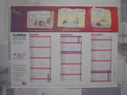 LES INFOS 2006 Le Journal D'information Interne SNCF Sous Blister Calendrier - Chemin De Fer