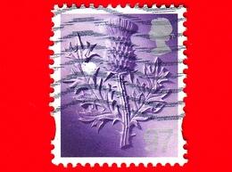 GB  - UK - GRAN BRETAGNA - Usato - 2014 - Regionale - Scozia - Scotland - Thistle - 97 - Regionali