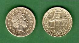 B-36803 United Kingdom 2005. One Pound. Coin - 1971-…: Dezimalwährungen