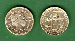 B-36803 United Kingdom 2005. One Pound. Coin - 1971-… : Decimal Coins