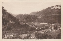 CPA 25 (Doubs) SAINT HIPPOLYTE / LA VALLEE DU DOUBS - Saint Hippolyte