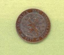 PAYS – BAS 2 1/2 CENT 1877 Bronze - 1948-1980 : Juliana