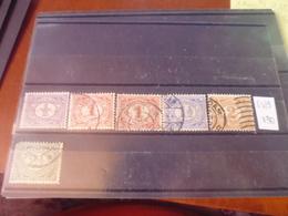 PAYS BAS   YVERT N°65.69 - 1891-1948 (Wilhelmine)