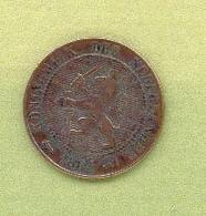 PAYS – BAS 2 1/2 CENT 1884 Bronze - 1948-1980 : Juliana
