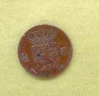 PAYS – BAS 1/2 CENT 1870 Bronze - 1948-1980 : Juliana