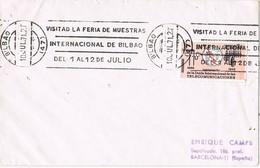 30776. Carta BILBAO 1971. Rodillo Especial Feria Muestras Bilbao - 1931-Hoy: 2ª República - ... Juan Carlos I