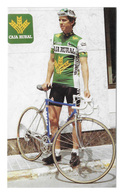 CARTE CYCLISME PELLO RUIZ CABESTANY TEAM CAJARURAL TOUR D'ESPAGNE 1987 FORMAT 6 X 10 - Radsport