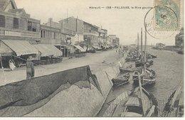 34  PALAVAS  LES  FLOTS    LA  RIVE  GAUCHE - Palavas Les Flots