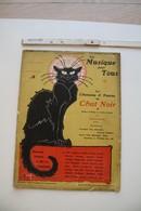 Les Chansons & Poésies Du Chat Noir, 1907, Illustrations De Fau, Léandre, Steinlen... - Scores & Partitions