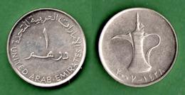 B-36821 United Arab Emirates 2007.One Dircham. Coin - Emirats Arabes Unis