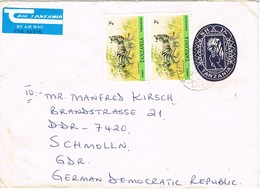 30778. Carta Entero Postal Aerea DAR ES SALAAM (Tanzania) 1984 - Tanzania (1964-...)