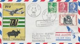 16 Octobre 1961 Première Liaison TAI  - Paris Tananarive Par Jet DC 8 - Avions
