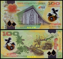 Papua New Guinea 100 Kina, 2018, Commemorative APEC Meeting, Polymer, Low Number - Papua Nuova Guinea