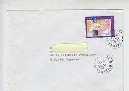 POLINESIA 1994 -  Animali - Cane (Hong-Kong) - Storia Postale