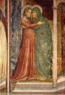 Campione D'italia - Santuario Madonna Dei Ghirli - Particolare - Dell'affresco - La Vita Della Vergine - Formato Grande - Cartoline
