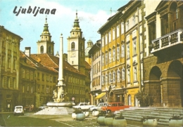 SL - Ljubljana (1981) - [Lubiana - Laibach - Mestni Trg Square / Place / Platz - Cathédrale] - Slovénie