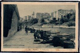 BASTIA - PECHEURS - RACCOMMODAGE DES FILETS DE PECHE - BEAU PLAN - Bastia