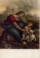 Cesare Da Sesto - La Madonna Col Divin Figlio - Formato Grande Non Viaggiata – E 9 - Cartoline