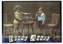 Schach - Bonne Annee - Briefmarken