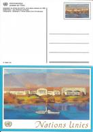 Onu, United Nations, Nations Unies,genève, Entier Postal 1992, Carte Neuve, 0.90 Fs, Palais Des Nations - Genf - Büro Der Vereinten Nationen