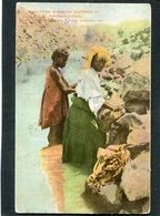 CPA - Natives Washing Clothes In PANAMA CANAL - Panama