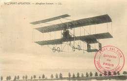 ESSONNE JUVISY SUR ORGE  PORT AVIATION ( Cachet)  Aeroplane  Sommer - Juvisy-sur-Orge