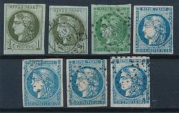 """N-271: FRANCE: Lot """"BORDEAUX"""" 2ème Choix à Défectueux (voir Descriptif) - 1870 Bordeaux Printing"""