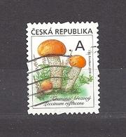 Czech Republic 2018 Gest ⊙ Mi 984 Mushrooms. The Orange Birch Bolete (Leccinum Versipelle/rufescens). - Tchéquie
