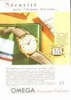 "PUB MONTRE   "" SEAMASTER CALENDAR  ""  "" OMEGA ""  1950'S ( 11 ) - Jewels & Clocks"