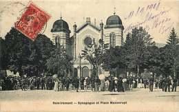 VOSGES REMIREMONT  SYNAGOGUE  Et Place Maxonrupt - Judaisme