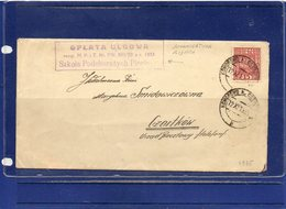 ##(ROYBOX1)-Postal History-Poland 1935-Cover From Komorowo To Czortkow, Reduced Rate Mark - 1919-1939 Repubblica
