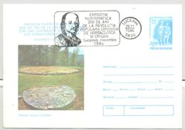 ARCHAEOLOGY, COSTESTI DACIAN VILLAGE RUINS, COVER STATIONERY, ENTIER POSTAL, 1984, ROMANIA - Archéologie