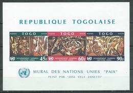 Togo Bloc-feuillet YT N°27 Désarmement Général Neuf ** - Togo (1960-...)